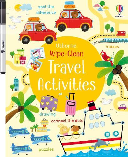 Wipe-clean Travel Activities - Wipe-clean Activities (Paperback)