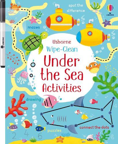 Wipe-clean Under the Sea Activities - Wipe-clean Activities (Paperback)