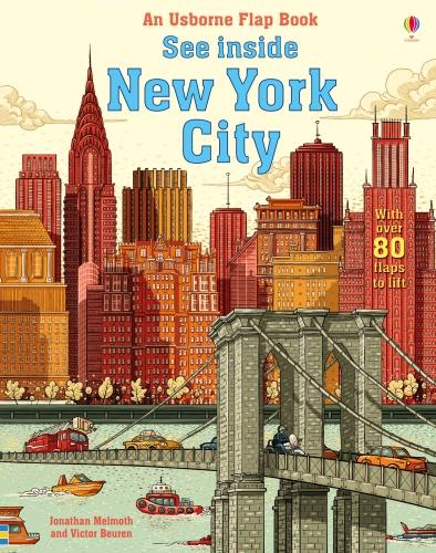 See Inside New York City - See Inside (Board book)