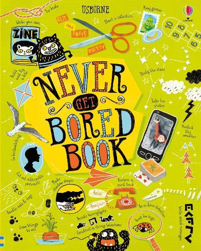 Never Get Bored Book - Never Get Bored (Hardback)