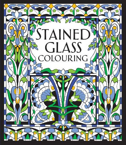 Stained Glass Colouring (Paperback)
