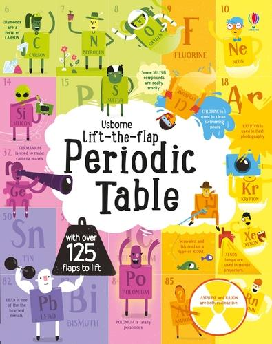 Lift the Flap Periodic Table - See Inside (Board book)
