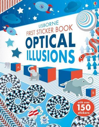 First Sticker Book Optical Illusions - First Sticker Books (Paperback)