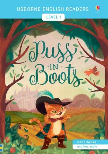 Puss in Boots - Usborne English Readers Level 1 (Paperback)