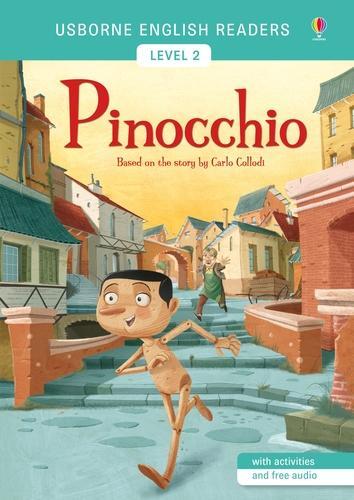 Pinocchio - Usborne English Readers Level 2 (Paperback)