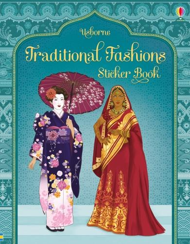 Traditional Fashions Sticker Book (Paperback)