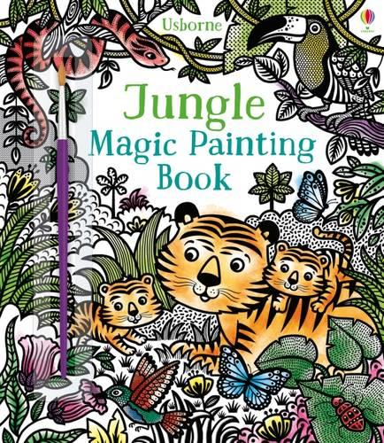 Jungle Magic Painting Book - Magic Painting (Paperback)