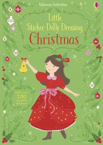 Little Sticker Dolly Dressing Christmas - Sticker Dolly Dressing (Paperback)