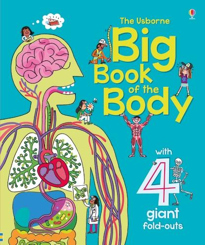 Big Book of The Body - Big Books (Board book)