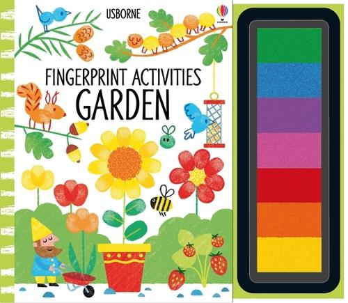 Fingerprint Activities Garden - Fingerprint Activities (Spiral bound)
