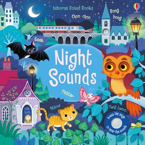 Night Sounds - Noisy Books (Board book)