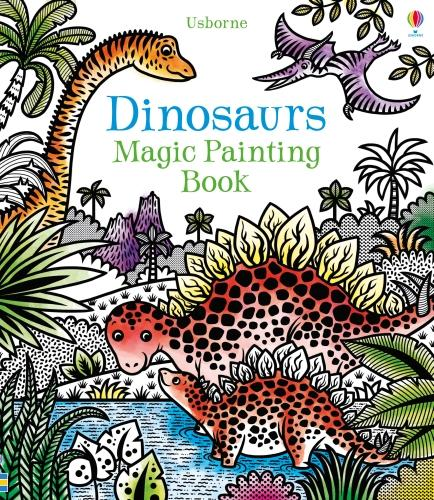 Dinosaurs Magic Painting Book - Magic Painting (Paperback)