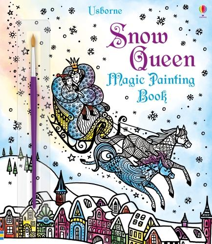 Snow Queen Magic Painting Book - Magic Painting (Paperback)