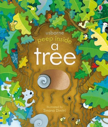 Peep Inside a Tree - Peep Inside (Board book)