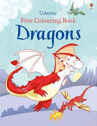 First Colouring Book Dragons - First Colouring Books (Paperback)