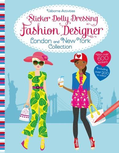 Sticker Dolly Dressing Fashion Designer London and New York Collection - Sticker Dolly Dressing Fashion Designer (Paperback)