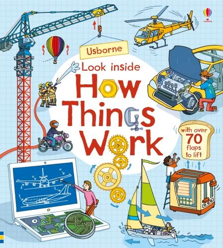 Look Inside How Things Work - Look Inside (Board book)