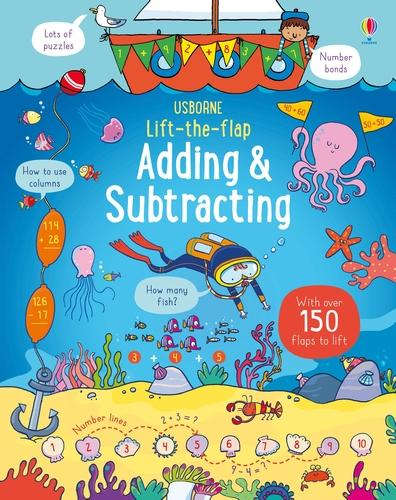 Lift-the-Flap Adding and Subtracting - Lift-the-Flap (Board book)