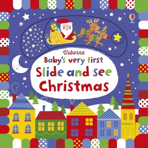 Baby's Very First Slide and See Christmas - Baby's Very First Books (Board book)