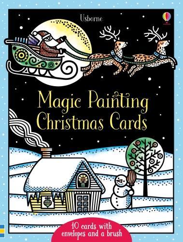 Magic Painting Christmas Cards - Magic Painting (Paperback)