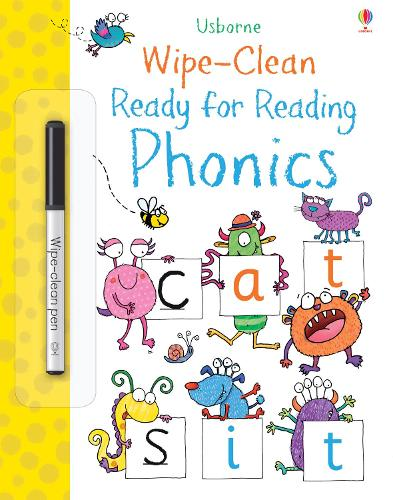 Wipe-Clean Ready for Reading Phonics - Wipe-Clean (Paperback)