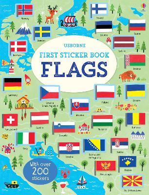 First Sticker Book Flags - First Sticker Books (Paperback)
