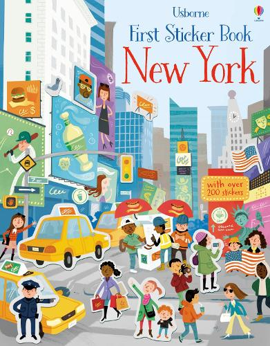 First Sticker Book New York - First Sticker Books (Paperback)