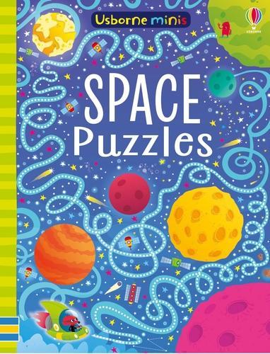 Space Puzzles - Usborne Mini Books (Paperback)
