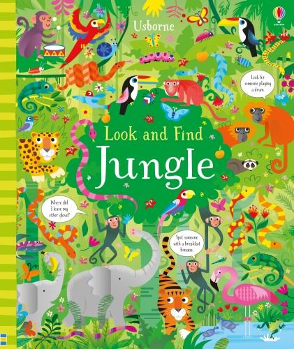 Look and Find Jungle - Look and Find (Hardback)