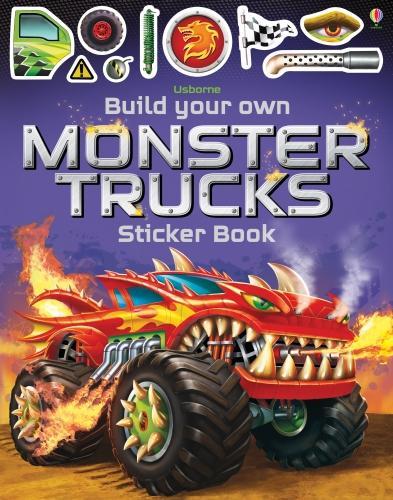 Build Your Own Monster Trucks Sticker Book - Build Your Own Sticker Book (Paperback)