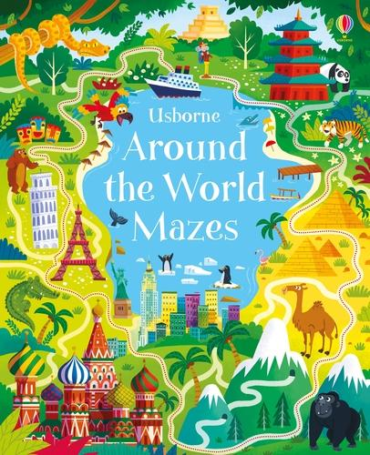 Around the World Mazes - Maze Books (Paperback)