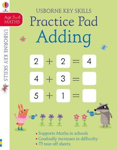 Adding Practice Pad 5-6 (Paperback)