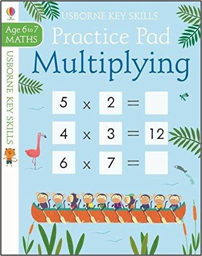 Multiplying Practice Pad 6-7 by Sam Smith | Waterstones