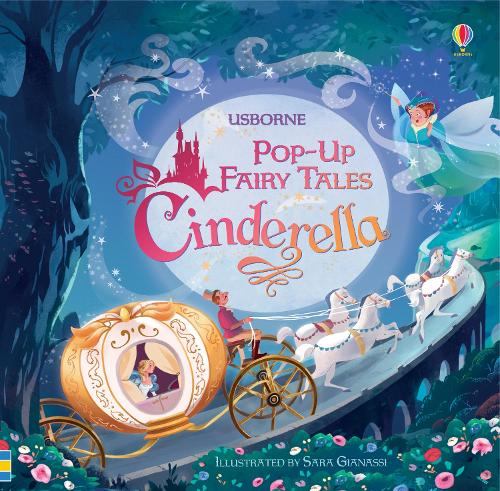 Pop-Up Cinderella - Pop Up Fairy Tales (Board book)