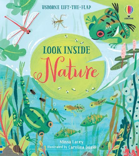 Look Inside Nature - Look Inside (Board book)