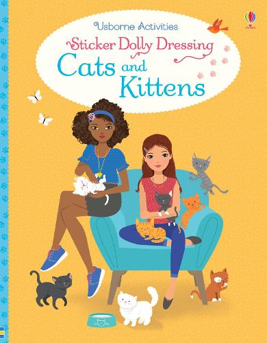 Sticker Dolly Dressing Cats and Kittens - Sticker Dolly Dressing (Paperback)