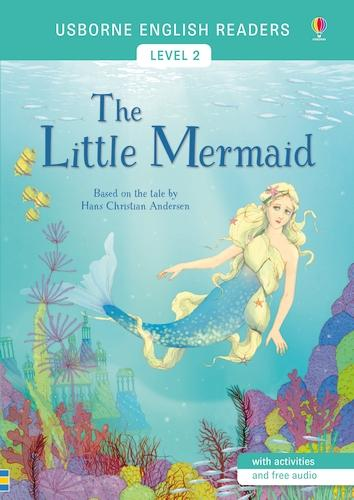 The Little Mermaid: English Readers Level 2 - Usborne English Readers (Paperback)