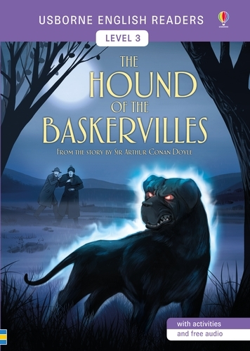 The Hound of the Baskervilles: English Readers Level 3 - Usborne English Readers (Paperback)