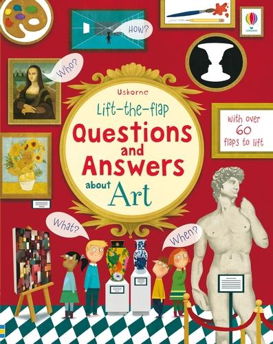 Lift-the-flap Questions and Answers about Art - Questions & Answers (Board book)