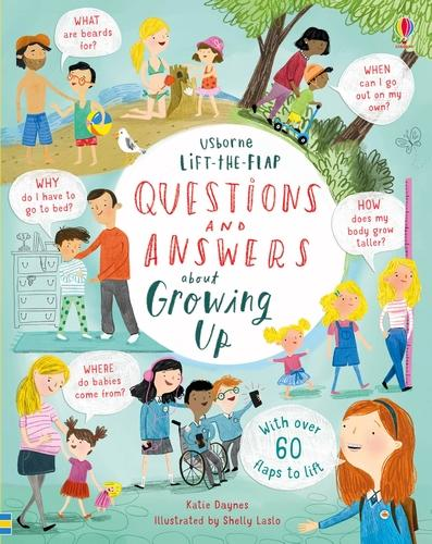 Lift-the-flap Questions and Answers about Growing Up - Lift-the-Flap Questions & Answers (Board book)