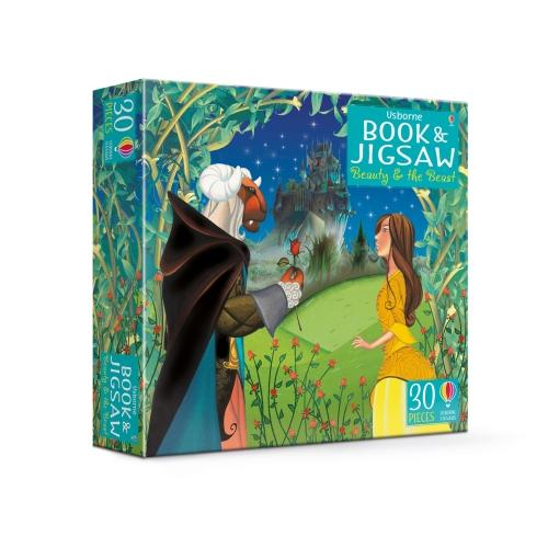 Beauty and the Beast - Usborne Book and Jigsaw (Paperback)