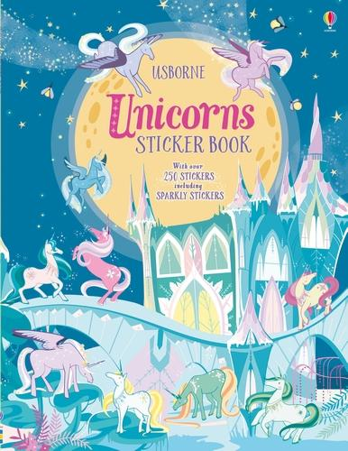 Unicorns Sticker Book (Paperback)