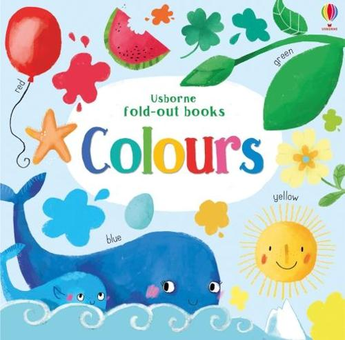 Colours - Fold Out Books (Board book)