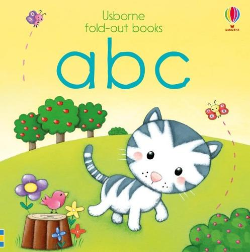 ABC - Fold Out Books (Board book)