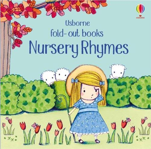 Nursery Rhymes - Fold Out Books (Board book)