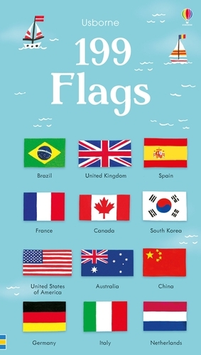199 Flags - 199 Pictures (Board book)
