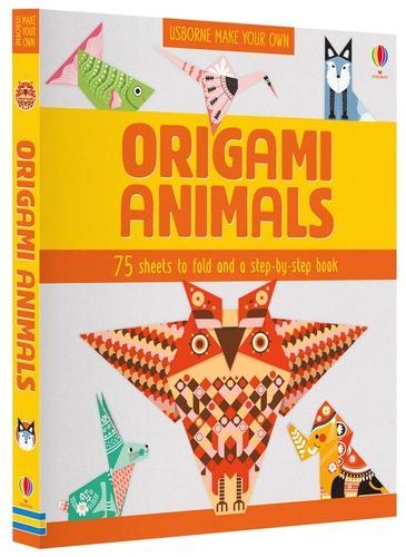 Origami Animals - Usborne Craft Folders (Paperback)