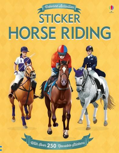 Sticker Horse Riding (Paperback)