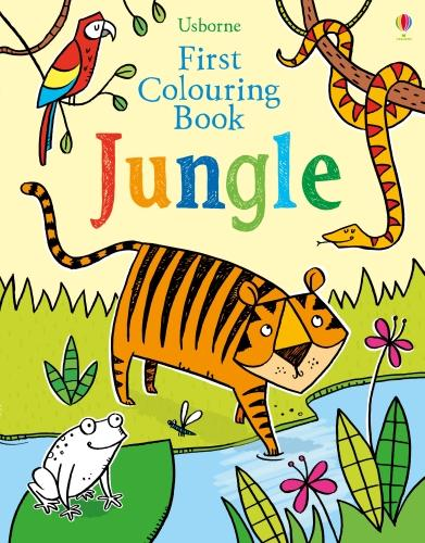 First Colouring Book Jungle - First Colouring Books (Paperback)