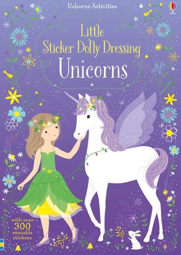 Little Sticker Dolly Dressing Unicorns - Sticker Dolly Dressing (Paperback)